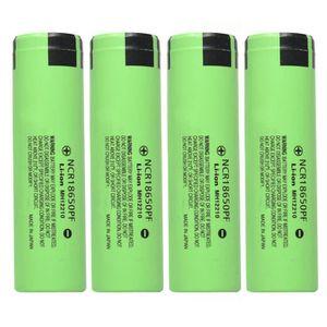 CHARGEUR DE PILES 4PCS 3.7V 3400mAh Li-ion rechargeable 18650 batter