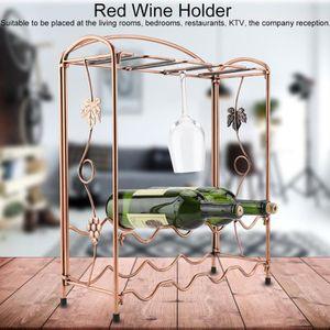 PORTE-VERRE Porte-verre à vin rouge Étagère à vin Range boutei
