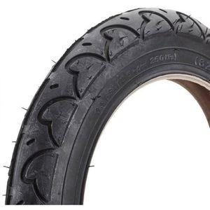 PNEU - CHAMBRE À AIR route pneu de bicyclette, Noir, 12 1-2 x 2 1-4, b1