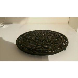 DESSOUS DE PLAT  ravissant ronds décoratifs en fonte Dessous de Pla