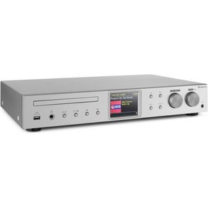 RADIO CD CASSETTE auna iTuner | CD Récepteur HiFi radio Internet DAB