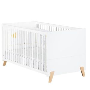 LIT BÉBÉ Babyprice - JOY NATUREL - Lit Evolutif Little Big