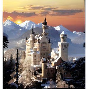 PUZZLE Puzzle 1500 pièces - Château de Neuschwanstein
