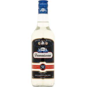 RHUM Rhum blanc Damoiseau - Rhum agricole - 50%vol - 70