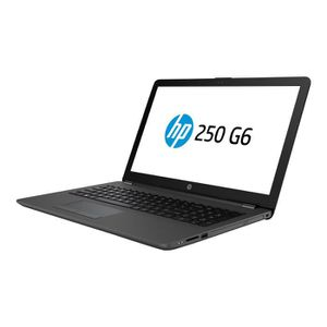 ORDINATEUR PORTABLE HP 250 G6 Core i3 7020U - 2.3 GHz Win 10 Familiale