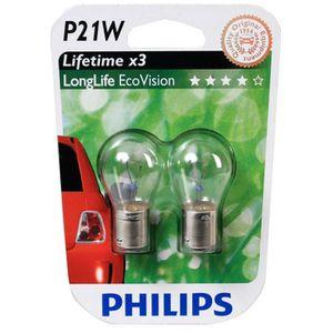 Bosch Longlife Frein//Brouillard Ampoule 382 P21W 12 V-Twin Pack