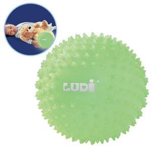 BALLE - BOULE - BALLON LUDI Balle Bébé Sensorielle Phosphorescente 6 m+ D