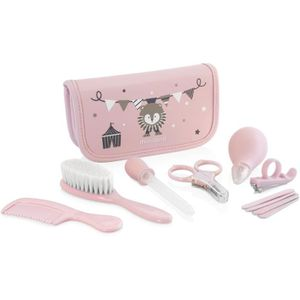 SET DE SOIN MINILAND - Baby kit rose - Trousse complète pour l