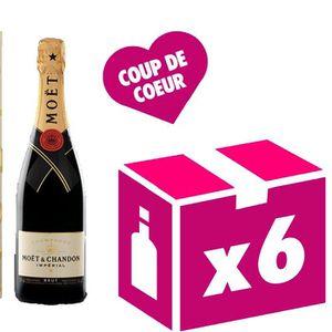 CHAMPAGNE Brut Impérial 6x75cl Champagne Moet et Chandon