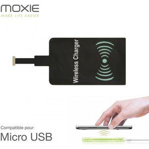 CHARGEUR TÉLÉPHONE Patch de recharge à induction pour Androïd Micro U