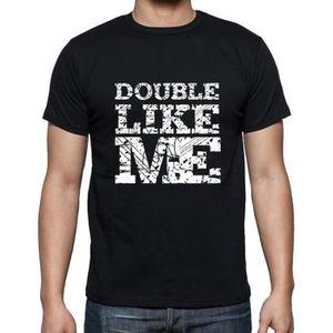 T-SHIRT DOUBLE Like me Tshirt Homme T-shirt