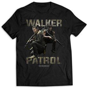Walker Hunter Daryl Dixon Wings Mens T Shirt Walking Dead Rick Grimes