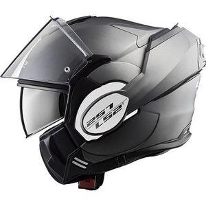 CASQUE MOTO SCOOTER Casque moto - LS2 VALIANT MATT TITANIUM - XL