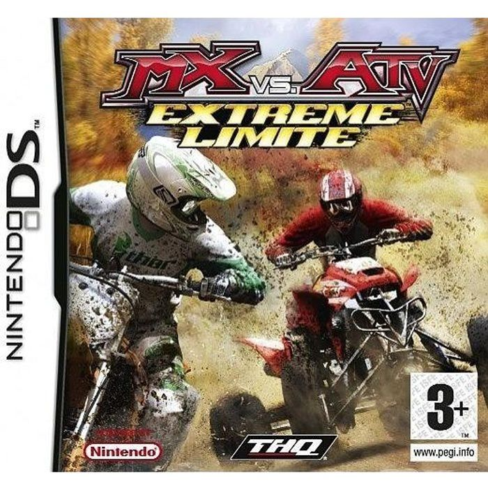 mx vs atv extreme limite jeu console nintendo ds achat vente jeu ds dsi mx vs atv. Black Bedroom Furniture Sets. Home Design Ideas