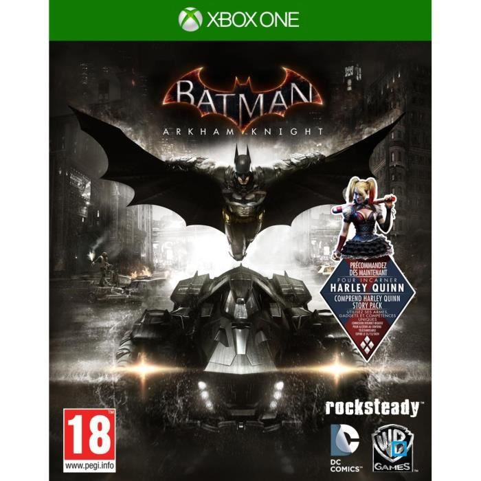 JEUX XBOX ONE Batman Arkham Knight Jeu Xbox One