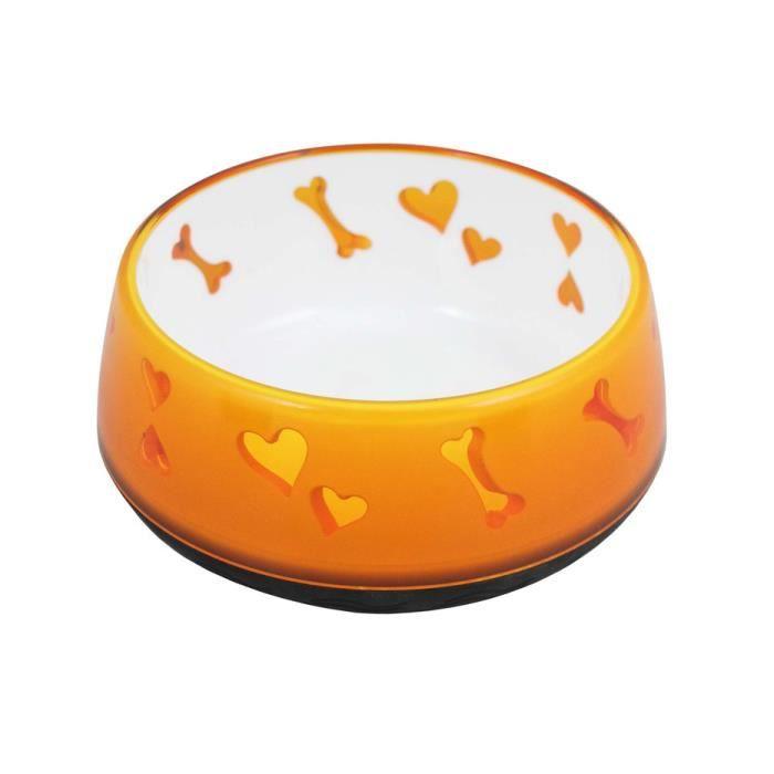 All For Paws PARE-CHIEN - GRILLE SEPARATION ANIMAUX Chien d'amour Bowl Dog Bowl 300ml d'orange 5725