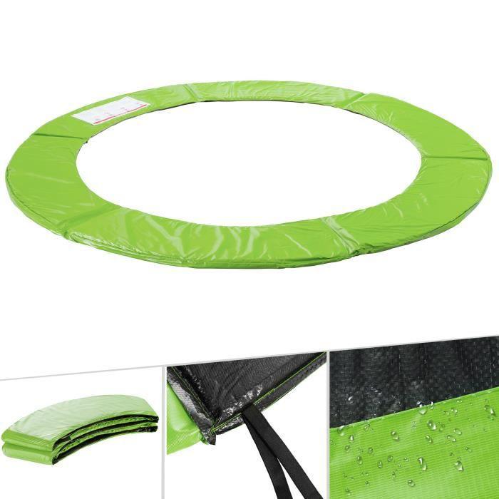 AREBOS Coussin de Protection des Ressorts Pour Trampoline 244 cm vert clair