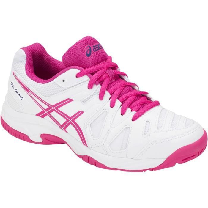 ASICS Chaussures de tennis Gel-Game 5 - Enfant garçon - Blanc
