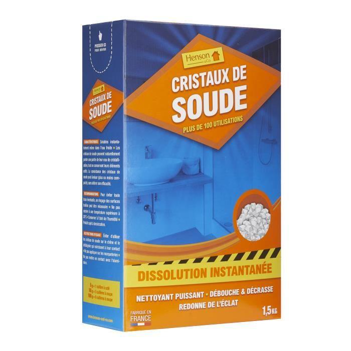 CRISTAUX DE SOUDE 1.5KG