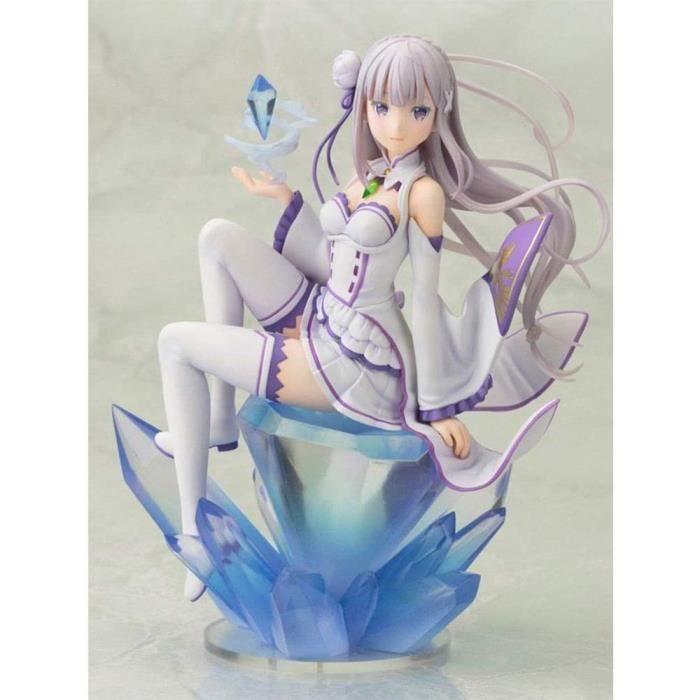 Re: La Vie dans Un Autre Monde from Zero Emilia PVC Figurine Anime Figure Modèle Jouets Poupée de Collection Cadeau