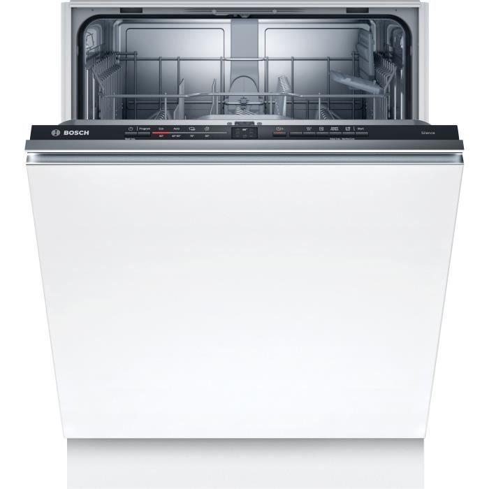 Lave-vaisselle tout intégrable BOSCH SGV2ITX18E Série 2 - 12 couverts - Induction - L60cm - 48 dB
