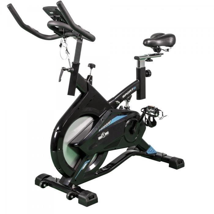 Vélo indoor Biking Pro Gorilla Sports Bleu