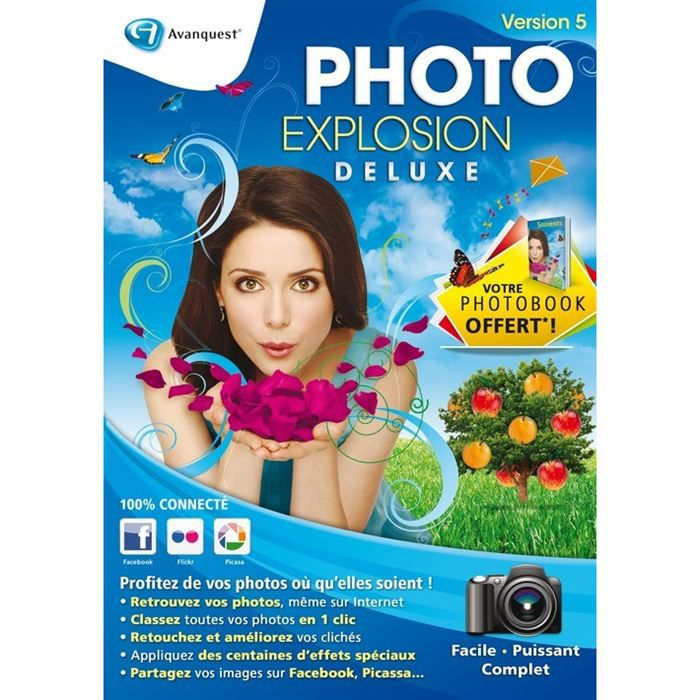 MICRO APPLICATION Logiciel Photo Explosion Deluxe