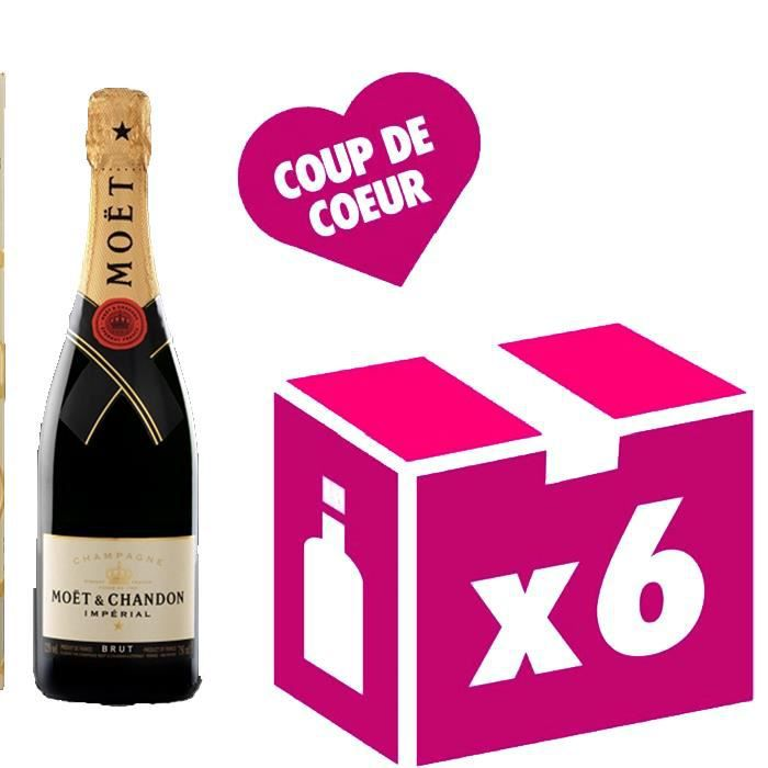 Brut Impérial 6x75cl Champagne Moet et Chandon