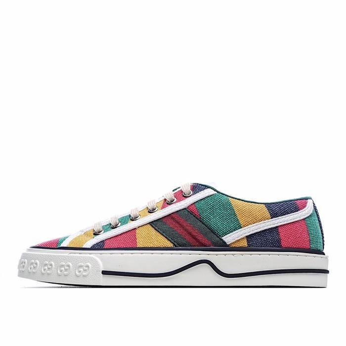 Baskets GUCCIs Tennis 1977 Sneaker Chaussures pour Homme Femme