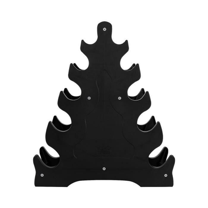 1 pc support de rangement haltère d'affichage chic de rack de rangement - rack a exercice - support fitness - musculation