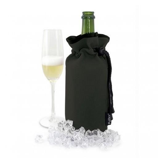 Sac à champagne réfrigérant noir Pulltex