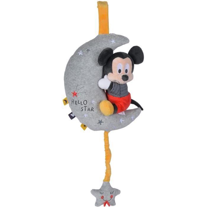 Disney - Doudou Mickey Musical Moon Starry Night