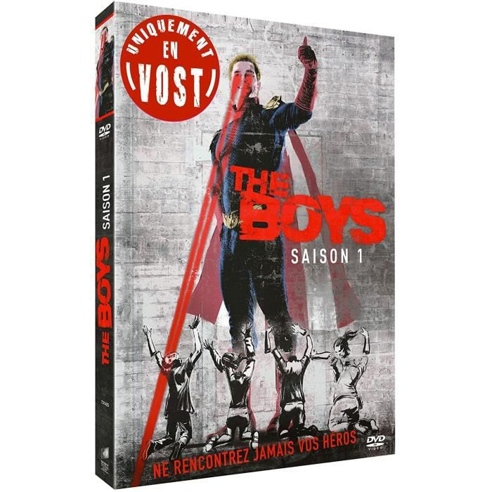 The Boys DVD Saison 1 VOST UNIQUEMENT
