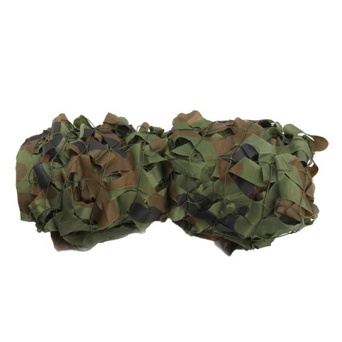 Camouflage de filet de camouflage de forêt de * 5M Camo de tir tirant l'armée cachée FILET ANTI-CHUTE - BARRIERE ANTI-CHUTE
