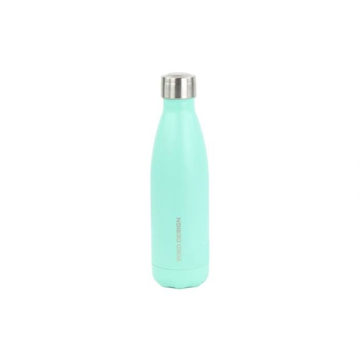 YOKO DESIGN Gourde isotherme Bouteille 500 ml pastel mint