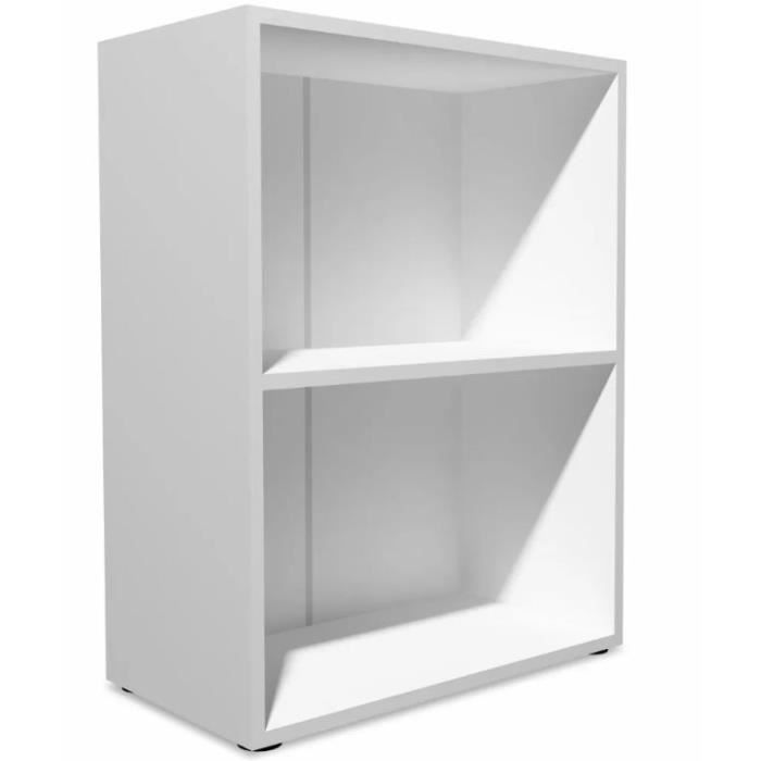 bibiotheque etagere blanche achat vente pas cher. Black Bedroom Furniture Sets. Home Design Ideas