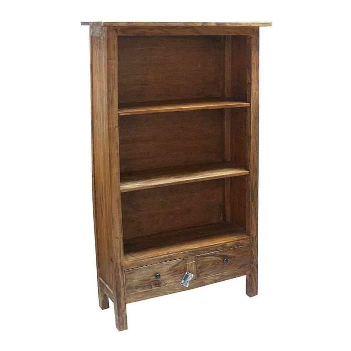 bibliotheque meuble etagere bois mahogany gm achat vente biblioth que bibliotheque meuble. Black Bedroom Furniture Sets. Home Design Ideas
