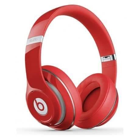 beats studio wireless rouge casque audio bluetooth achat vente casque couteur audio beats. Black Bedroom Furniture Sets. Home Design Ideas