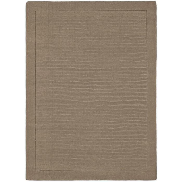 benuta tapis uni taupe 300x400 cm achat vente tapis cdiscount. Black Bedroom Furniture Sets. Home Design Ideas