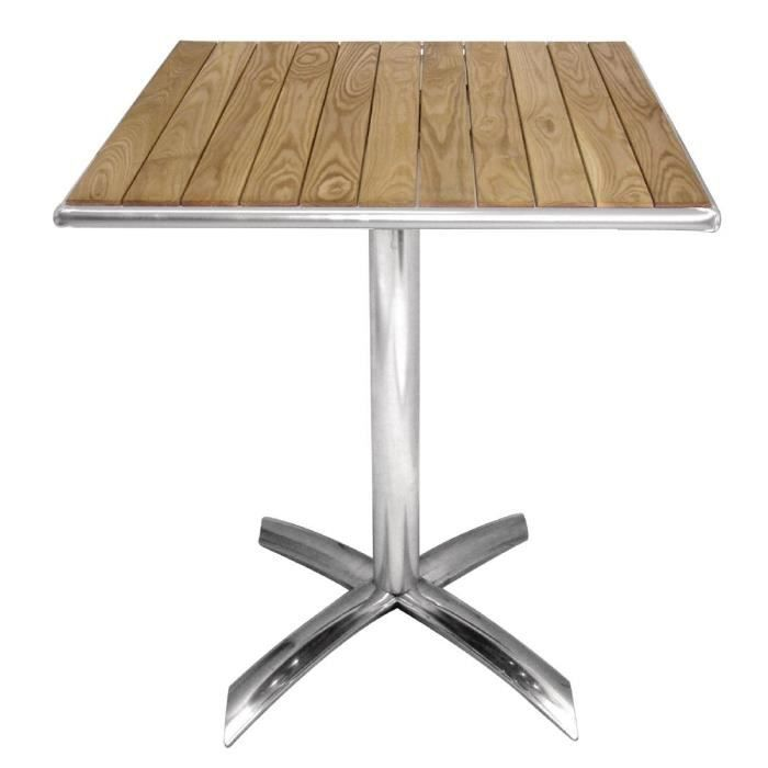 MANGE-DEBOUT Boléro Ash Flip Top Place Bistro Table 600mm
