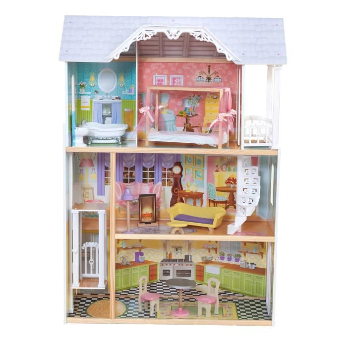 maisons de poup es barbie achat vente pas cher black friday le 24 11 cdiscount. Black Bedroom Furniture Sets. Home Design Ideas