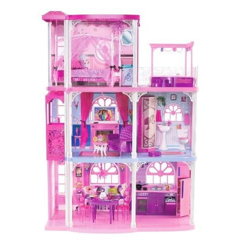 mattel n7666 fabuleuse maison de barbie achat. Black Bedroom Furniture Sets. Home Design Ideas