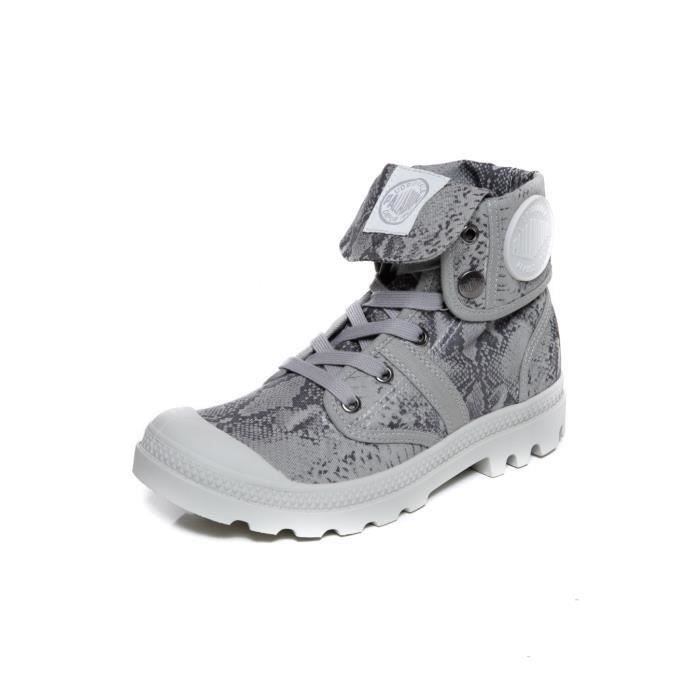 Baskets PLDM by PALLADIUM BAGGY ANIMAL F Snake Lt Grey