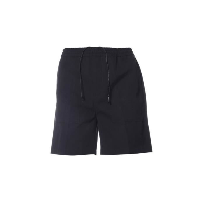 GOLDEN GOOSE HOMME G32MP513A1 NOIR COTON SHORTS 9fjror