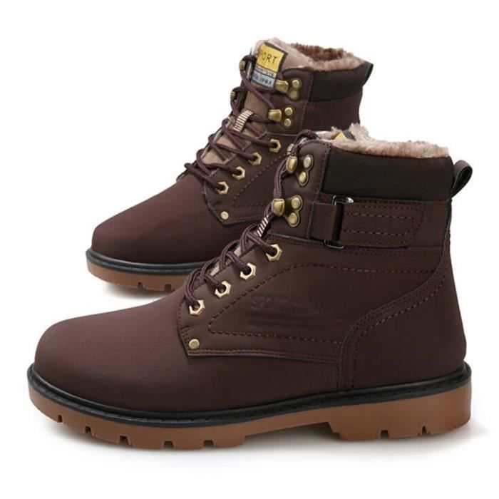 Hiver Hommes Martin Mode Confortable Bottine Nik Homme Bottines Durable xqwFpp