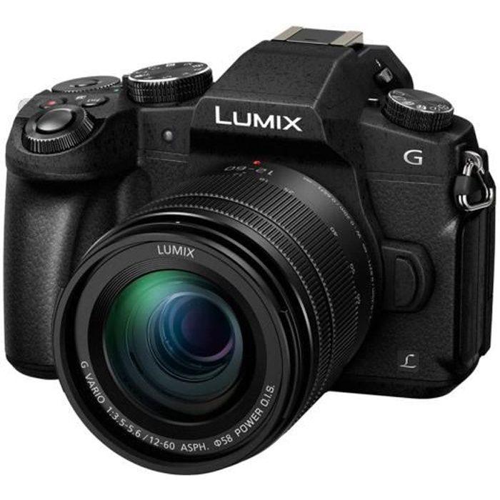 APPAREIL PHOTO HYBRIDE Panasonic Lumix G DMC-G80 - Appareil photo numériq