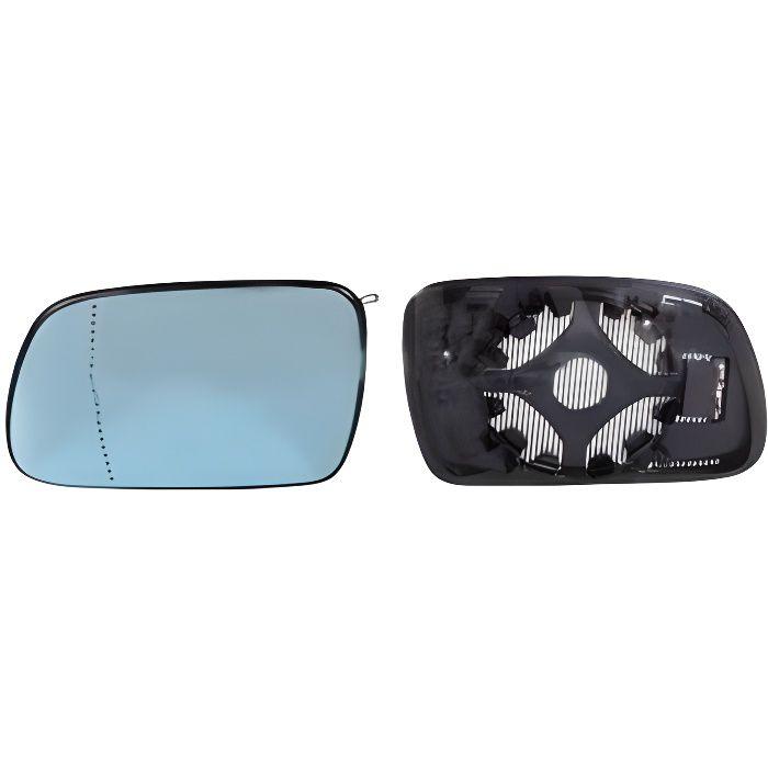 Mercedes Classe C,E,S Glace de rétroviseur bleu Gauche