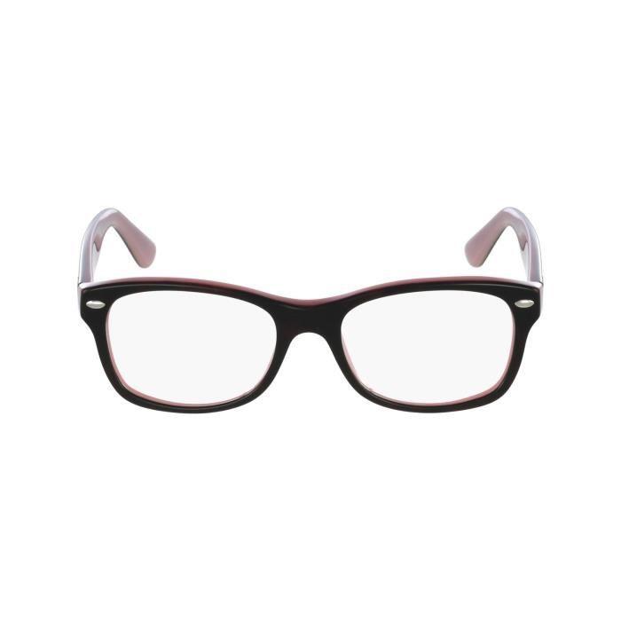 lunette de vue ray ban or rose