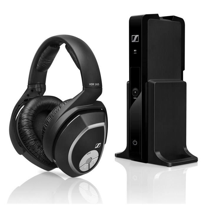 sennheiser rs 165 casque tv sans fil hifi bass boost casque couteur audio avis et prix. Black Bedroom Furniture Sets. Home Design Ideas