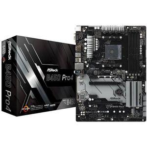 CARTE MÈRE Carte mère ASRock B450 Pro 4, AMD B450 - Sockel AM
